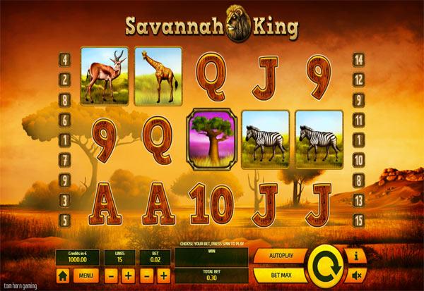 Savannah King 777 Slots Bay game