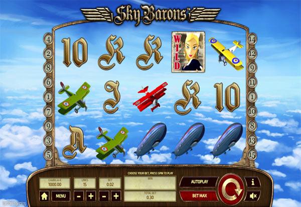 Sky Barons 777 Slots Bay game