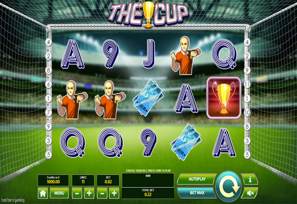 The Cup 777 Slots Bay game