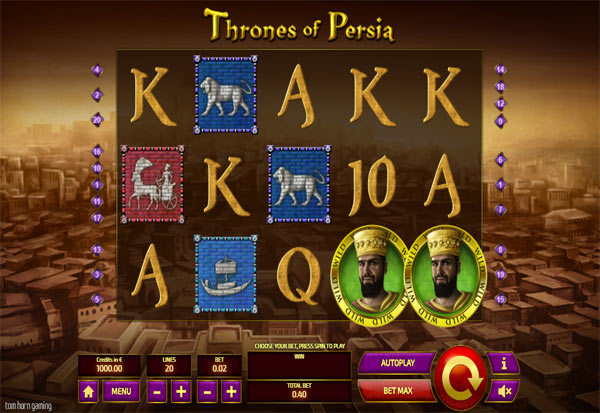 Thrones Of Persia 777 Slots Bay game