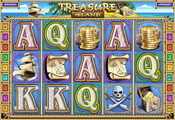 Treasure Island 777 Slots Bay game