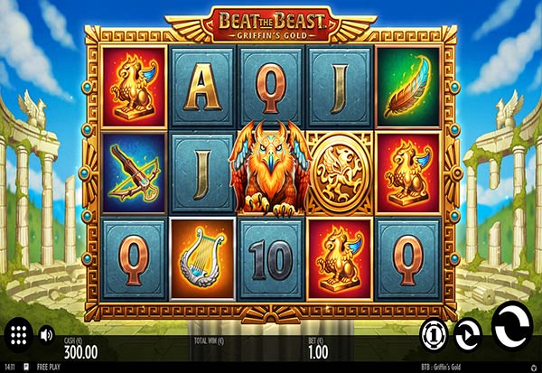 Beat the Beast Griffins Gold 777 Slots Bay game