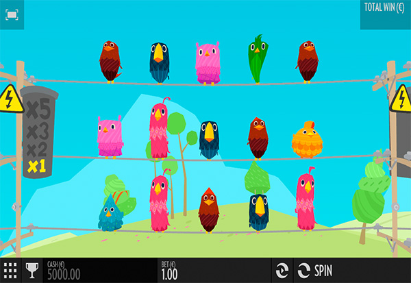 Birds On A Wire 777 Slots Bay game