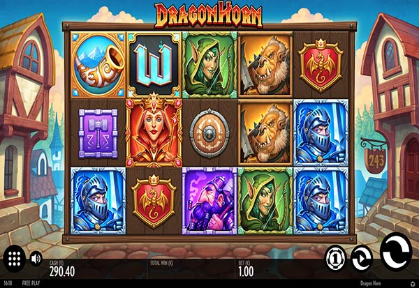 Dragon Horn 777 Slots Bay game