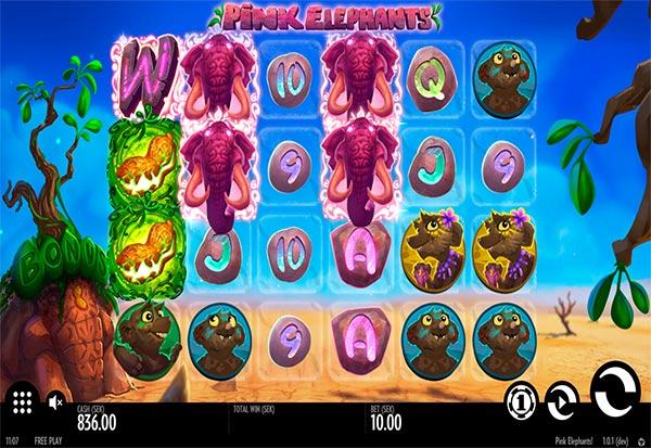 Pink Elephants 777 Slots Bay game