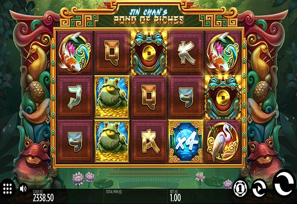 Jin Chan's Pond of Riches 777 Slots Bay game