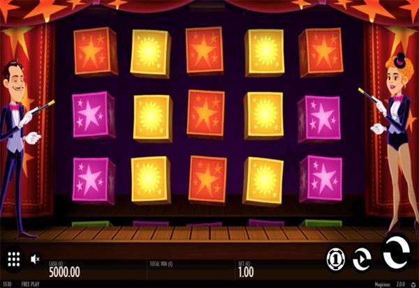 Magicious 777 Slots Bay game