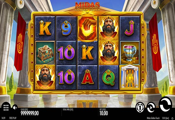 Midas Golden Touch 777 Slots Bay game