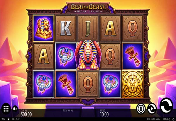 Mighty sphinx 777 Slots Bay game
