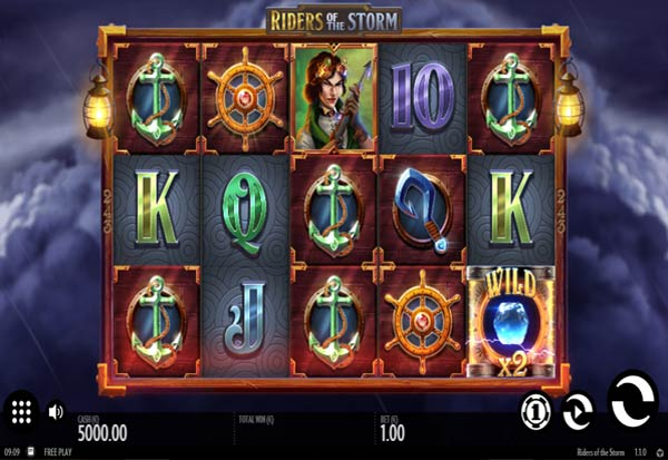 Riders of the Storm 777 Slots Bay game