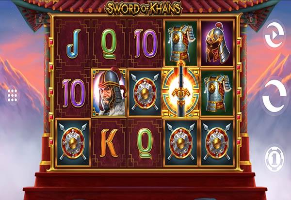 Sword of Khans 777 Slots Bay game