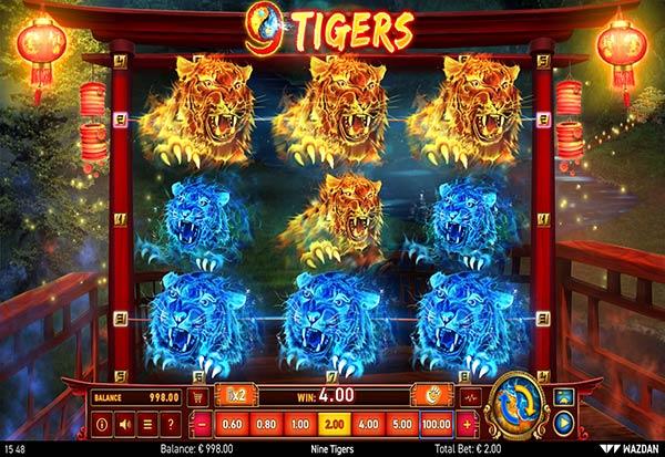9 Tigers 777 Slots Bay game