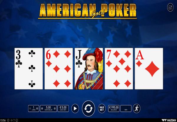 American Poker Gold 777 Slots Bay game