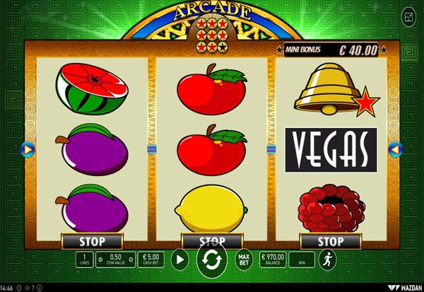 Arcade 777 Slots Bay game