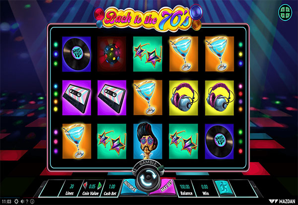 Back to the 70's 777 Slots Bay game