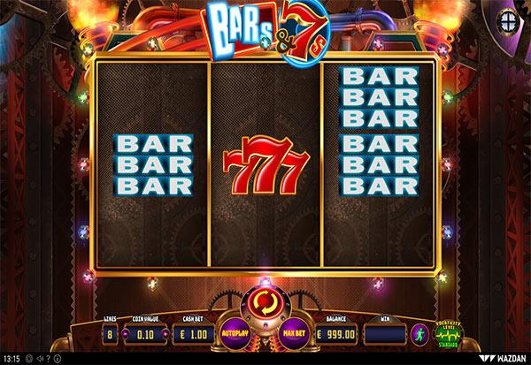 BARs&7s 777 Slots Bay game