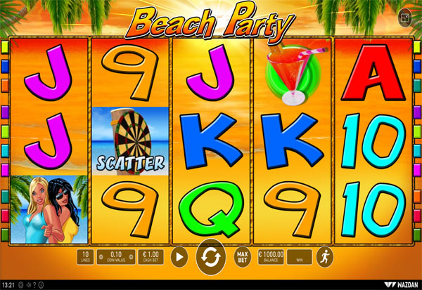 Beach Party 777 Slots Bay game