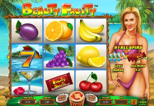 Beauty Fruity 777 Slots Bay game