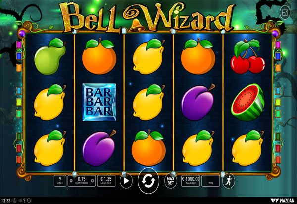 Bell Wizard 777 Slots Bay game