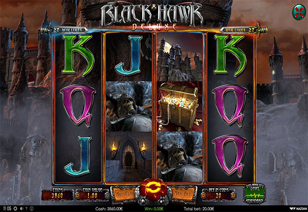 Black Hawk Deluxe 777 Slots Bay game