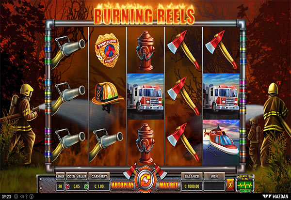 Burning Reels 777 Slots Bay game