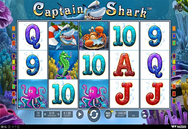 Captain Shark 777 Slots Bay game