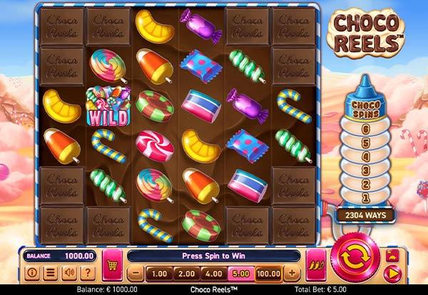 Choco Reels 777 Slots Bay game