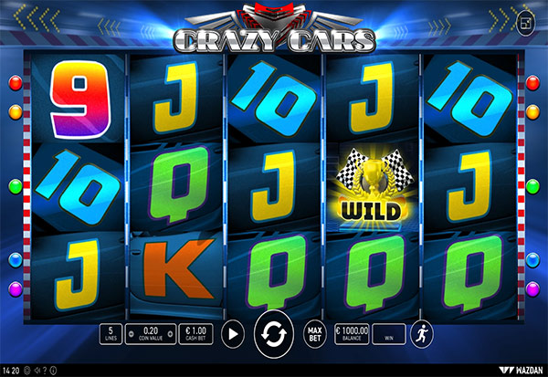 Crazy Cars 777 Slots Bay game