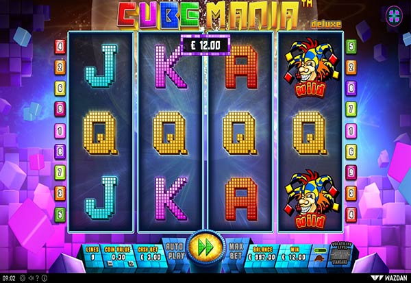 Cube Mania Deluxe 777 Slots Bay game