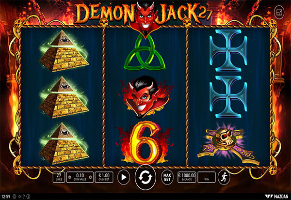 Demon Jack 27 777 Slots Bay game