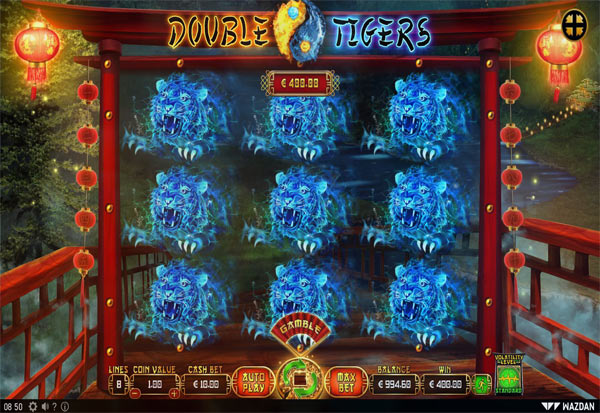 Double Tigers 777 Slots Bay game
