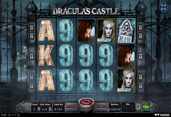 Dracula's Castle 777 Slots Bay game