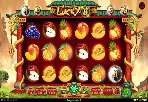 Dragons Lucky 8 777 Slots Bay game