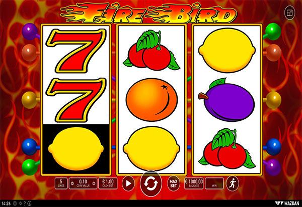 Fire Bird 777 Slots Bay game