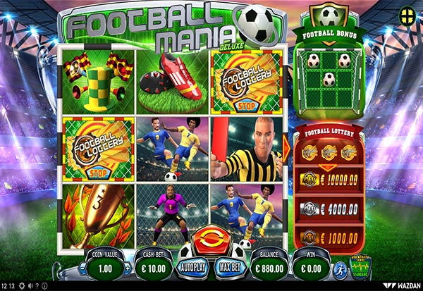 Football Mania 777 Slots Bay game