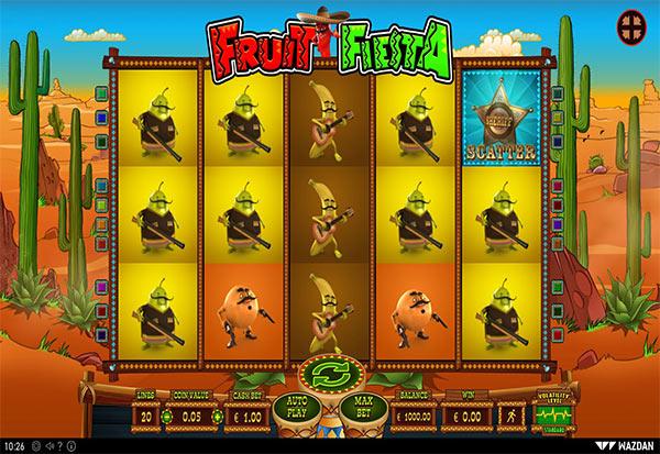 Fruit Fiesta 777 Slots Bay game