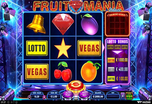 Fruit Mania Deluxe 777 Slots Bay game