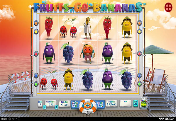 Fruits Go Bananas 777 Slots Bay game