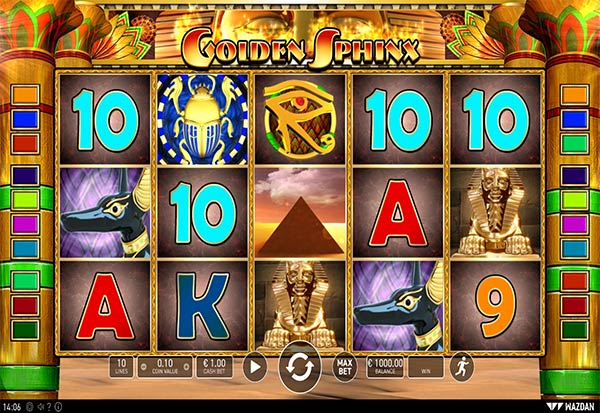 Golden Sphinx 777 Slots Bay game