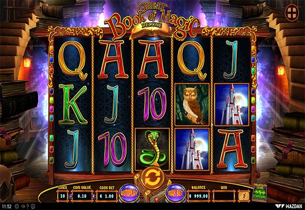 Great Book of Magic Deluxe 777 Slots Bay game