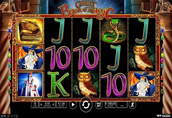 Great Book of Magic 777 Slots Bay game