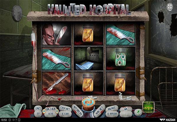 Haunted Hospital 777 Slots Bay game