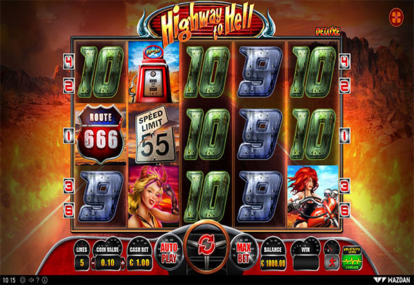 Highway to Hell Deluxe 777 Slots Bay game