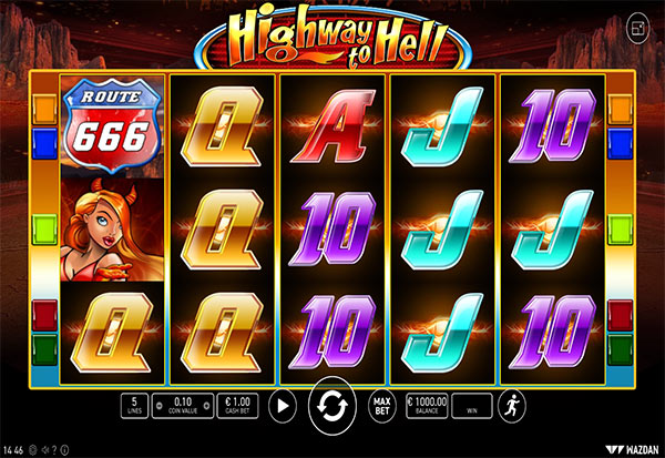 Highway To Hell 777 Slots Bay game