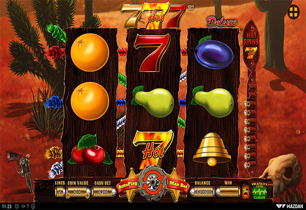 Hot 777 Deluxe 777 Slots Bay game