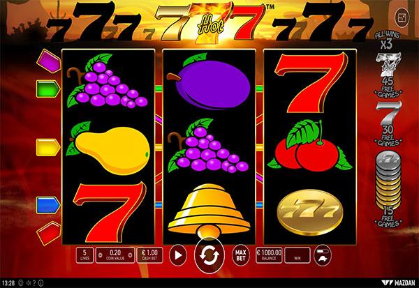 Hot 777 777 Slots Bay game