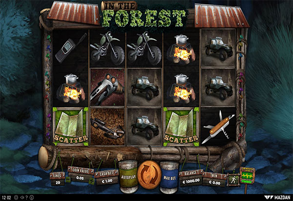 In The Forest 777 Slots Bay game