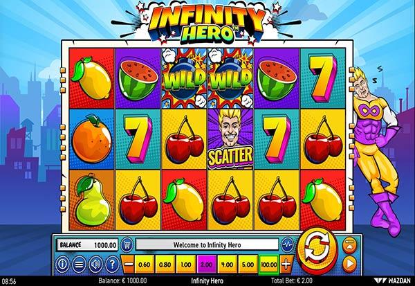 Infinity Hero 777 Slots Bay game