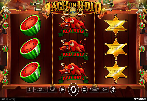 Jack on Hold 777 Slots Bay game