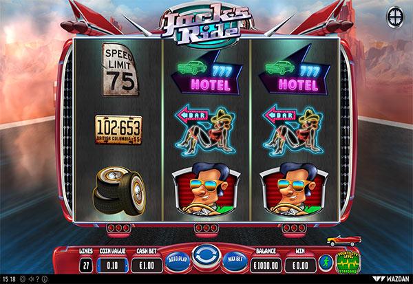 Jack's Ride 777 Slots Bay game